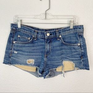 rag & bone distressed shorts Size 28